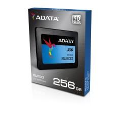 Unidad de Estado Sólido, Adata, ASU800SS-256GT-C, SU800, 256 GB, SSD, 2.5 pulgadas, SATA, 7mm