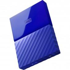 Disco Duro Externo, WD, WDBYNN0010BBL-WESN, USB 3.0, 2.5 pulgadas, Azul