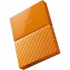 Disco Duro Externo, Western Digital WD, My Passport, 1 TB, WDBYNN0010BOR-WESN, USB 3.0, 2.5 pulgadas, Naranja