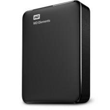 Disco Duro Externo, WD, WDBU6Y0020BBK-WESN, 2 TB, USB 3.0, Negro