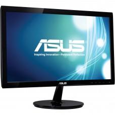 Monitor, Asus, VS207D-P, 19.5 pulgadas, 1600x900, VGA, 60 Hz, VESA, Negro