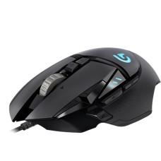 Mouse Óptico, Logitech, 910-004616, G502, Proteus Spectrum RGB, 12000 dpi, Gamer, Negro