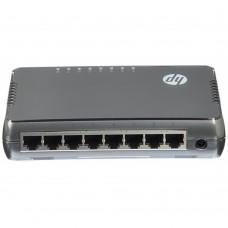 HP - Switch, HP, JH408A, 8 puertos RJ45, Gigabit