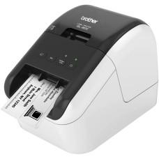 Impresora de Etiquetas, Brother, QL800, USB, 12 mm, 62 mm, Código de Barras, Corte Automático