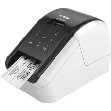 Impresora de etiquetas, Brother, QL810W, USB, Wi-Fi, Rojo/Negro