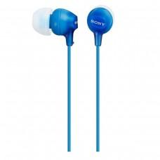 SONY - AUDIFONO INTERNO IN-EAR SONY EX15-LP COLOR AZUL. CONECTOR 3.5 MM