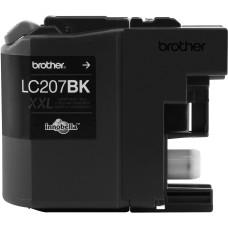 BROTHER - Cartucho de Tinta, Brother, LC207BK, Negro, 1200 Páginas