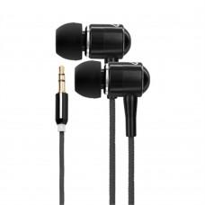 - Audífonos, Energy Sistem, EY-422845, Negro, 3.5 mm, Urban 2