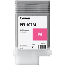 Cartucho Tanque de Tinta Canon, 6707B001AA, PFI-107M, Magenta, 130ml
