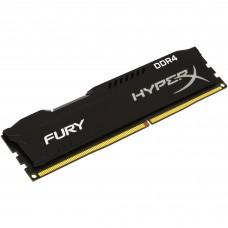 Memoria RAM, Kingston, HX421C14FB2/8, DDR4, 8 GB, 2133 MHz, HyperX Fury, Negro, 288 pin