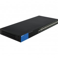 LINKSYS - Switch Administrable, Linksys, LGS528, 28 puertos 1000 Mbps, Rack, 2x SFP, Negro