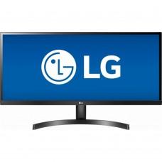 Monitor LED, LG, 34WK500-P, 34 pulgadas, 2560x1080, 60Hz, 5ms, Negro