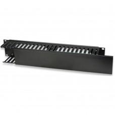 Organizador de Cables, Intellinet, 168458, Horizontal, Rack 2 U