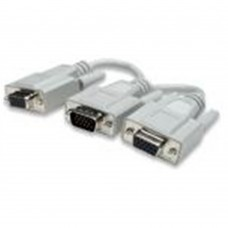 MANHATTAN - Cable de Video, Manhattan, 328302, Divisor, 1 VGA a 2 VGA
