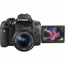 Cámara Digital, Canon, EOS Rebel T6I, 0591C003AA, Lente 18-55 mm
