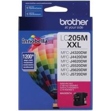 BROTHER - Cartucho de Tinta, Brother, LC205M, Magenta