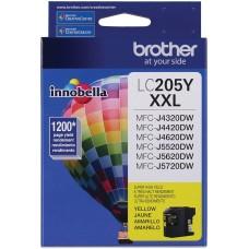 BROTHER - Cartucho de Tinta, Brother, LC205Y, Amarillo