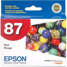 EPSON - Cartucho de Tinta, Epson, T087720, Stylus 87, Rojo, 18.2 ml