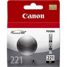 CANON - Cartucho de Tinta, Canon, 2946B016AA, CLI-221, Negro