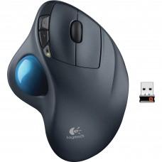 Mouse Láser, Logitech, 910-001799, M570, Inalámbrico, Trackball, Unifying, Negro
