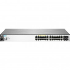 Switch Administrable, HP, J9773A, 24 puertos 10/100/1000 Mbps, PoE+, Rack