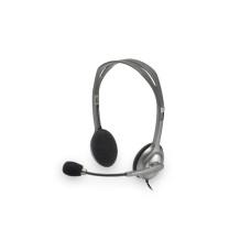 Audífonos con Micrófono, Logitech, H111, Diadema, Estéreo, 3.5 mm