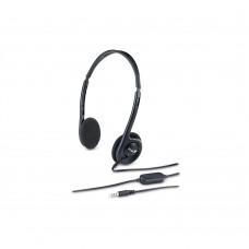 GENIUS - Audífonos con Micrófono, Genius, HS-200C, Diadema, 3.5 mm