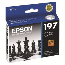EPSON - Cartucho de Tinta, Epson, T197120-AL, Negro, 300 Páginas