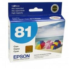 EPSON - Cartucho de Tinta, Epson, T081220-AL, 81N, Cian, 500 Páginas