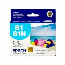 EPSON - Cartucho de Tinta, Epson, T081520-AL, 81N, Cian Claro, 500 Páginas