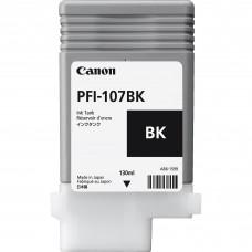 Tanque de Tinta Canon, 6705B001AA, PFI-107BK, Negro, 130ml