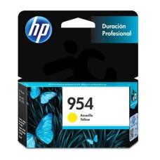 HP - Cartucho de Tinta, HP, L0S56AL, 954, Amarillo, 700 Páginas