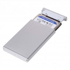Gabinete, Sabrent, EC-UM30, 2.5 Pulgadas, Sata a USB 3.0, Plata