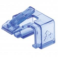 Clip, Intellinet, 771443, RJ45, 50 Piezas, Azul Transparente