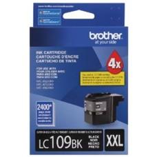 BROTHER - Cartucho de Tinta, Brother, LC109BK, Negro, 2400 Páginas