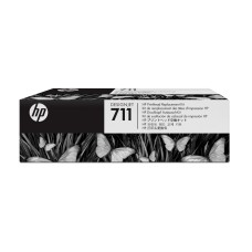 Cabezal de Impresión, HP, C1Q10A, HP 711, Kit Negro y Tricolor