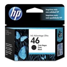HP - Cartucho de Tinta, HP, CZ637AL, 46, Negro, 1500 Páginas
