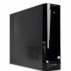 Gabinete Slim, True Basix, TB-05002, Micro ATX, 450W, Negro