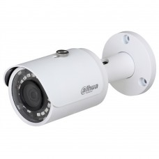 DAHUA - Cámara de Vigilancia, Dahua, HFAW1100S28S3, Bullet , HDCV1, 720p, TVI, AHD, CVBS, Luz Smart, IR de hasta 30 m, Blanco