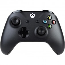 MICROSOFT - Control Inalambrico, Xbox One, 4N6-00001, cable para PC con Windows, Negro