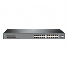 Switch Administrable, HP, JL381A, OfficeConnect 1920S, 24 puertos Gigabit, 2 SFP, Capa 2, QoS