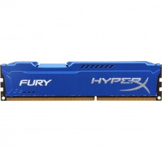 Memoria RAM, Kingston, HX318C10F/8, 8 GB, DDR3, 1866 MHz, CL 10, Azul, HyperX Fury
