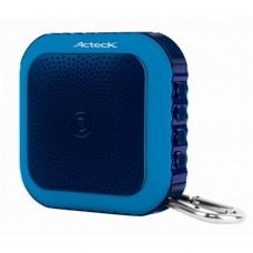 ACTECK - Bocina Portatil, Acteck, AC-02005, Bluetooth, Manos Libres, USB, Azul