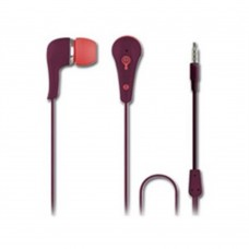 Perfect Choice - AUDIFONO MANOS LIBRES EASY LINE BY PERFECT CHOICE IN EAR 3.5MM CON CABLE REDONDO UVA/VINO