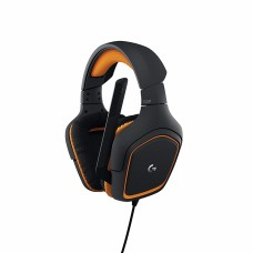 LOGITECH - Audífonos con micrófono, Logitech, 981-000626, Prodigy G231, USB, Negro-Naranja