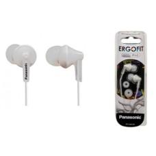 PANASONIC - Audífonos, Panasonic, RP-HJE125PPW, Blanco, 3.5 mm