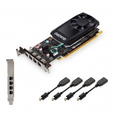 Tarjeta de Video, PNY, VCQP600-ESPPB,  NVIDIA, 2 GB GDDR5,  PCI Express x16 3.0