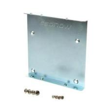 Bracket, Kingston, SNA-BR2/35, Bahia de 2.5 a 3.5 pulgadas, SSD a HDD, Con Tornillos, Plateado