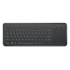 MICROSOFT - Teclado, Microsoft, N9Z-00004, Inalámbrico, Touchpad, USB, Negro