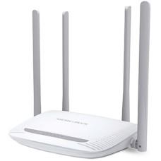 TP LINK - Router, Mercusys, MW325R, Inalámbrico, 802.11 N/G/B, 4 Puertos LAN 100 Mbps, 1 Puerto WAN 100 Mbps, 4 antenas fijas externas